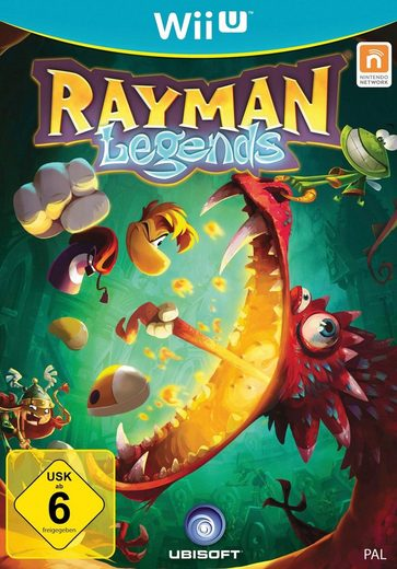 Rayman Legends Nintendo Wii U, Software Pyramide