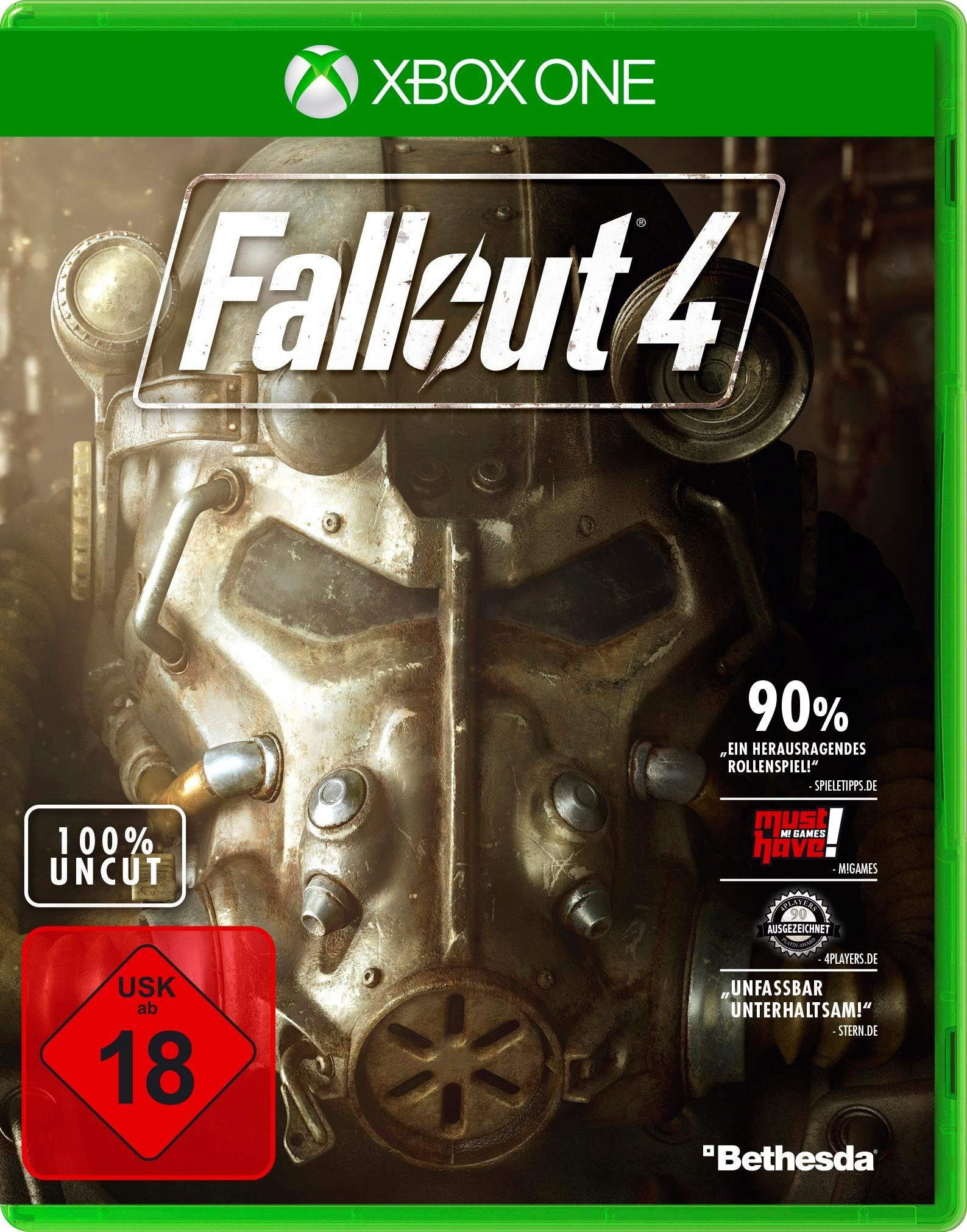 Fallout 4 Xbox One, Software Pyramide