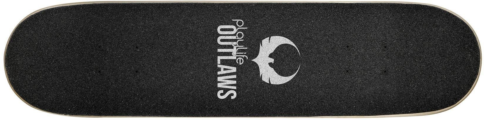 Playlife Skateboard »Outlaw«