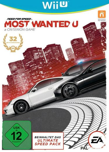 Need for Speed: Most Wanted U Nintendo Wii U, Software Pyramide