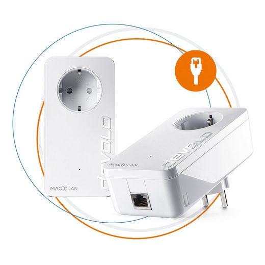 DEVOLO »2x Magic 1 LAN Adapter« Reichweitenverstärker