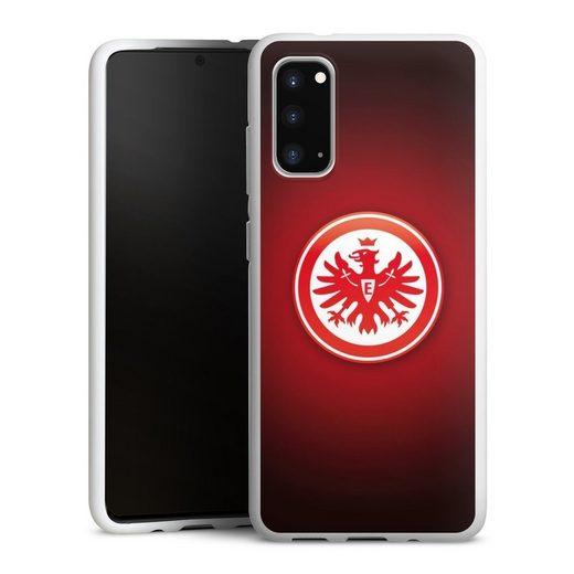 DeinDesign Handyhülle »Eintracht Frankfurt« Samsung Galaxy S20, Hülle Eintracht Frankfurt Offizielles Lizenzprodukt Wappen