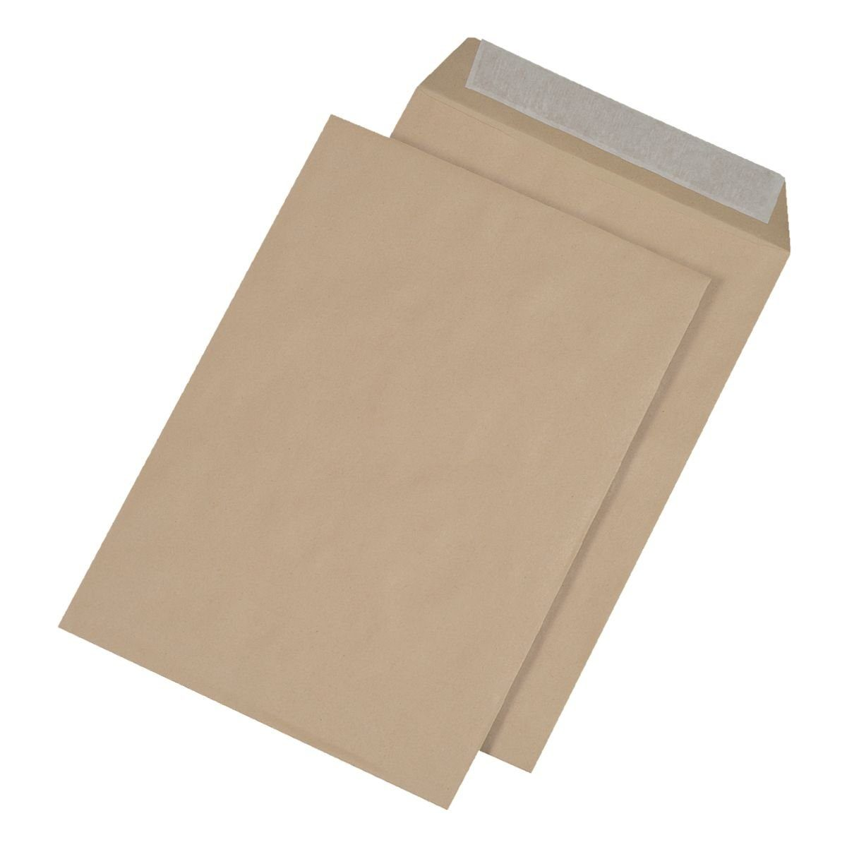 Mailmediade Faltentaschen mit Keil-/Spitzboden