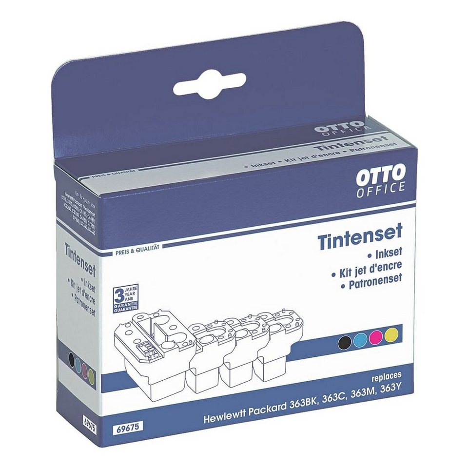 OTTO Office Standard Tintenpatrone ersetzt HP »C8721EE« Nr. 363