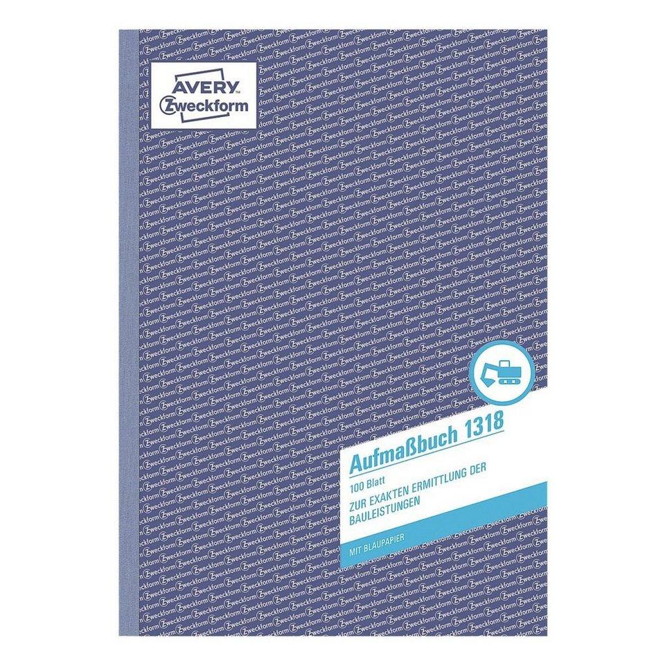 Avery Zweckform Formularbuch »Aufmaßbuch«