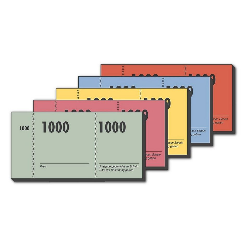Sigel 10er-Pack Formularvordrucke »Nummernblock«