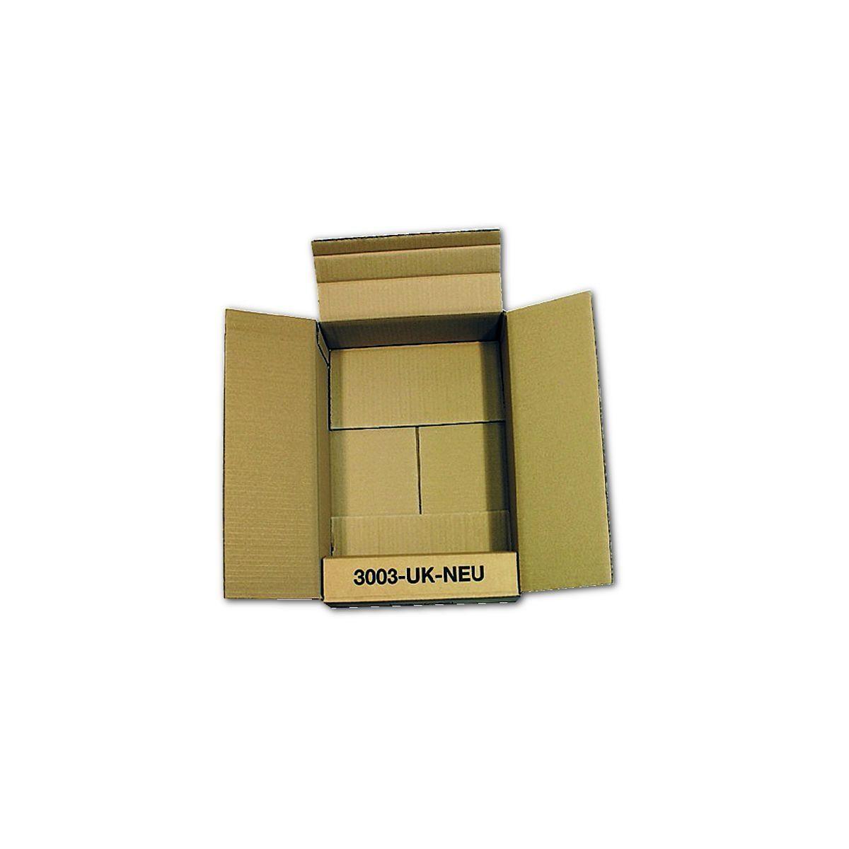 KEINE MARKE 5 Flaschen-Versandkartons