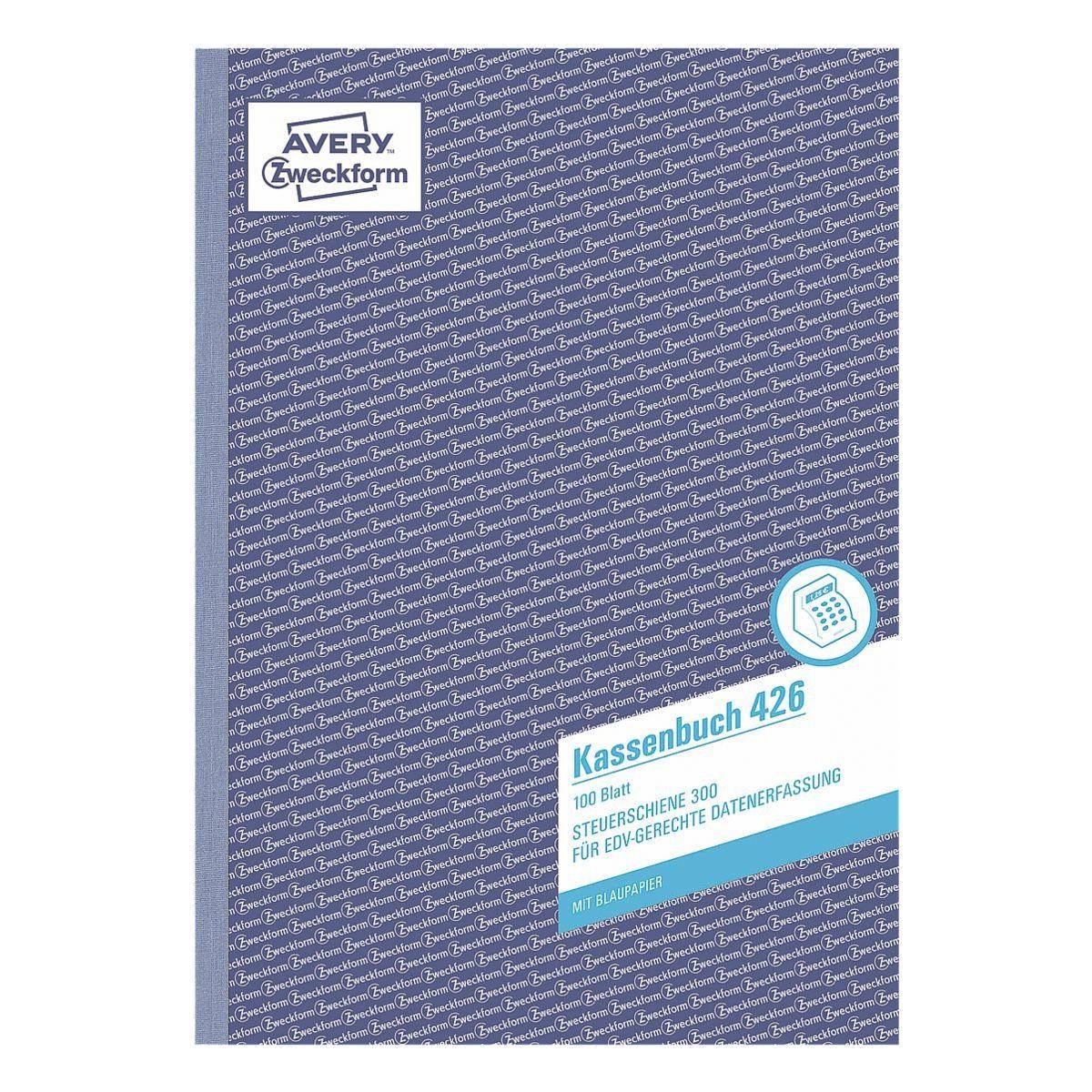 ZWECKFORMAVERY Formularbuch »Kassenbuch (Steuerschiene 300)«
