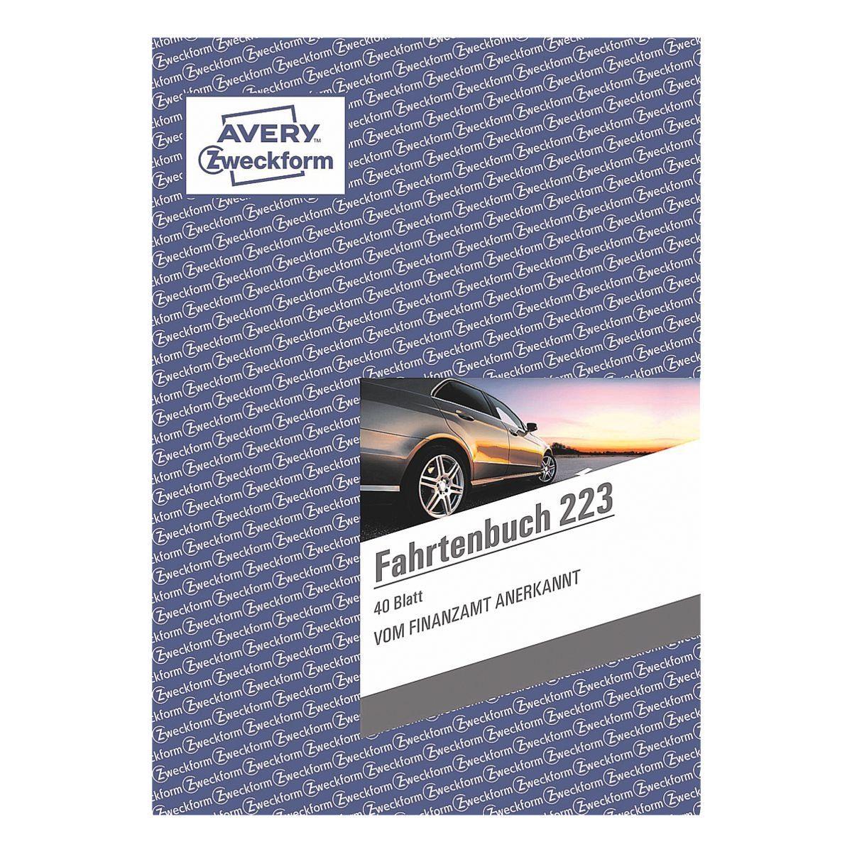 Avery Zweckform Formularbuch »Fahrtenbuch«