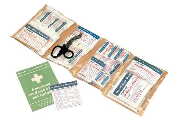 Holthaus 64-teiliges Füllsortiment für Erste Hilfe