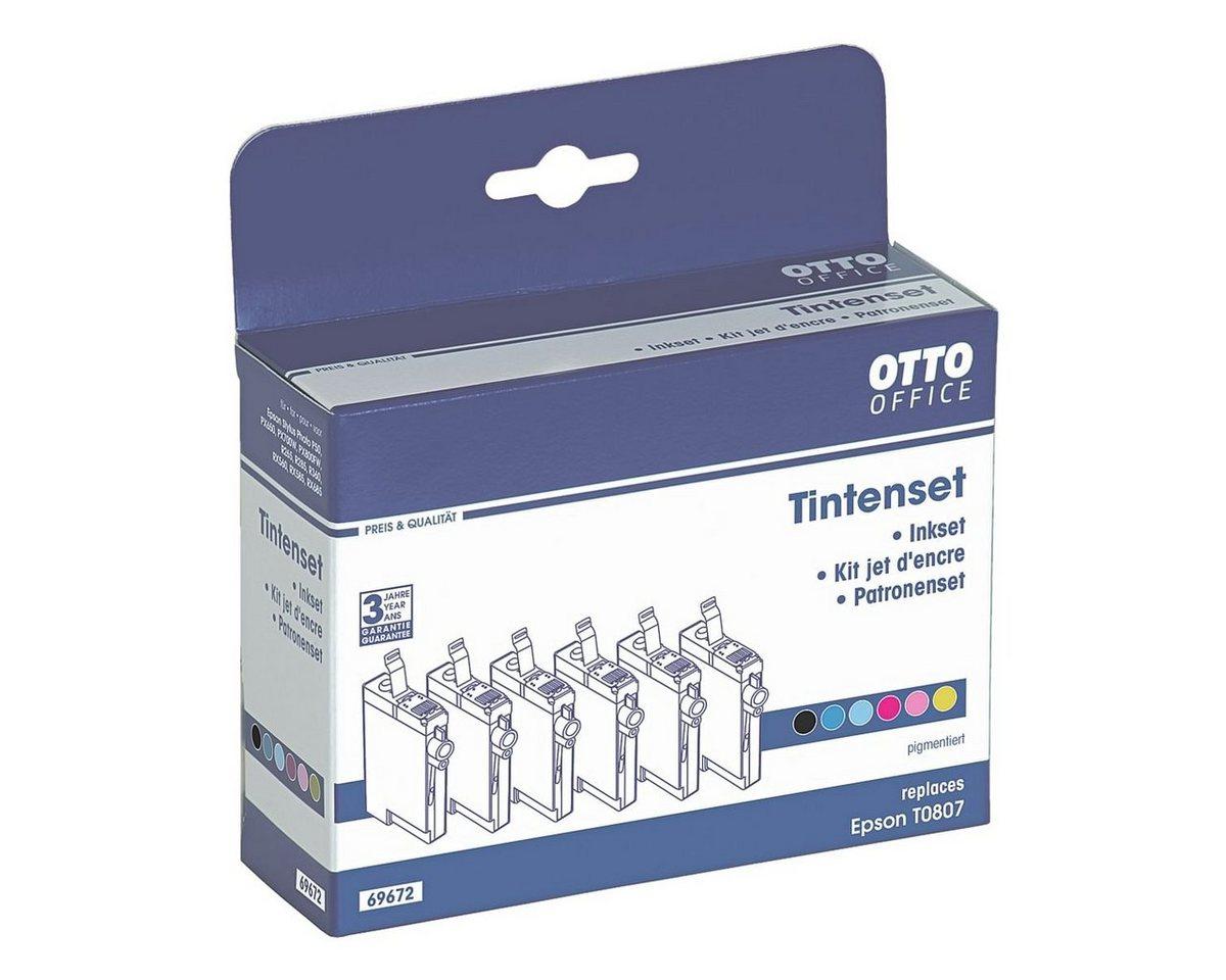 OTTOOFFICE STANDARD Tintenpatronen-Multipack ersetzt Epson »T0807«