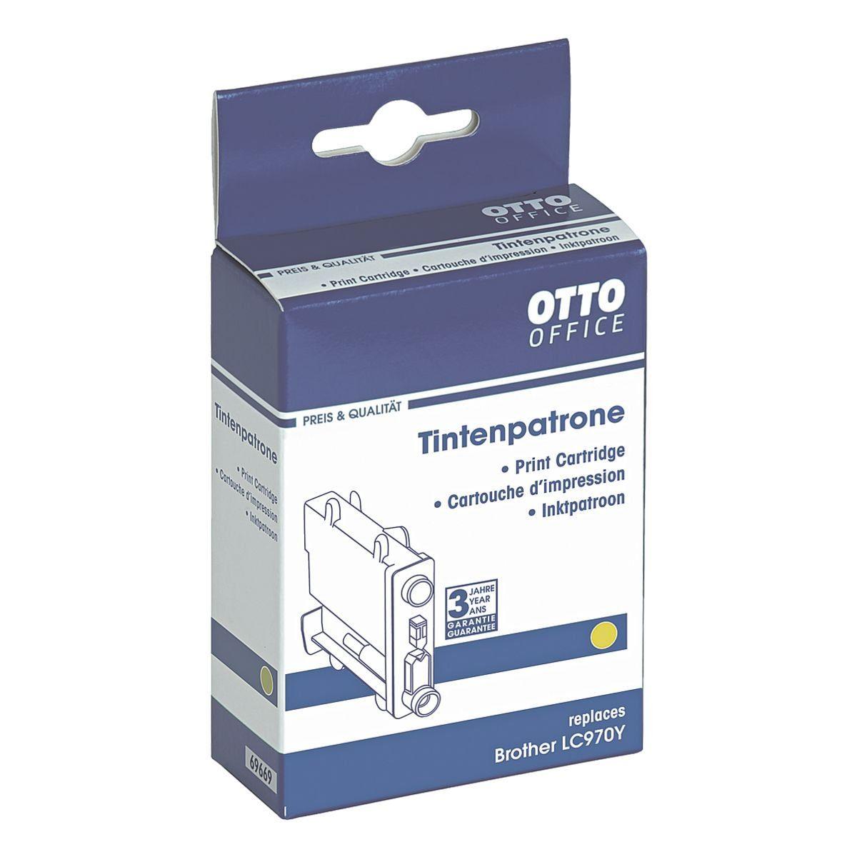 OTTO Office Standard Tintenpatrone ersetzt Brother »LC970Y«