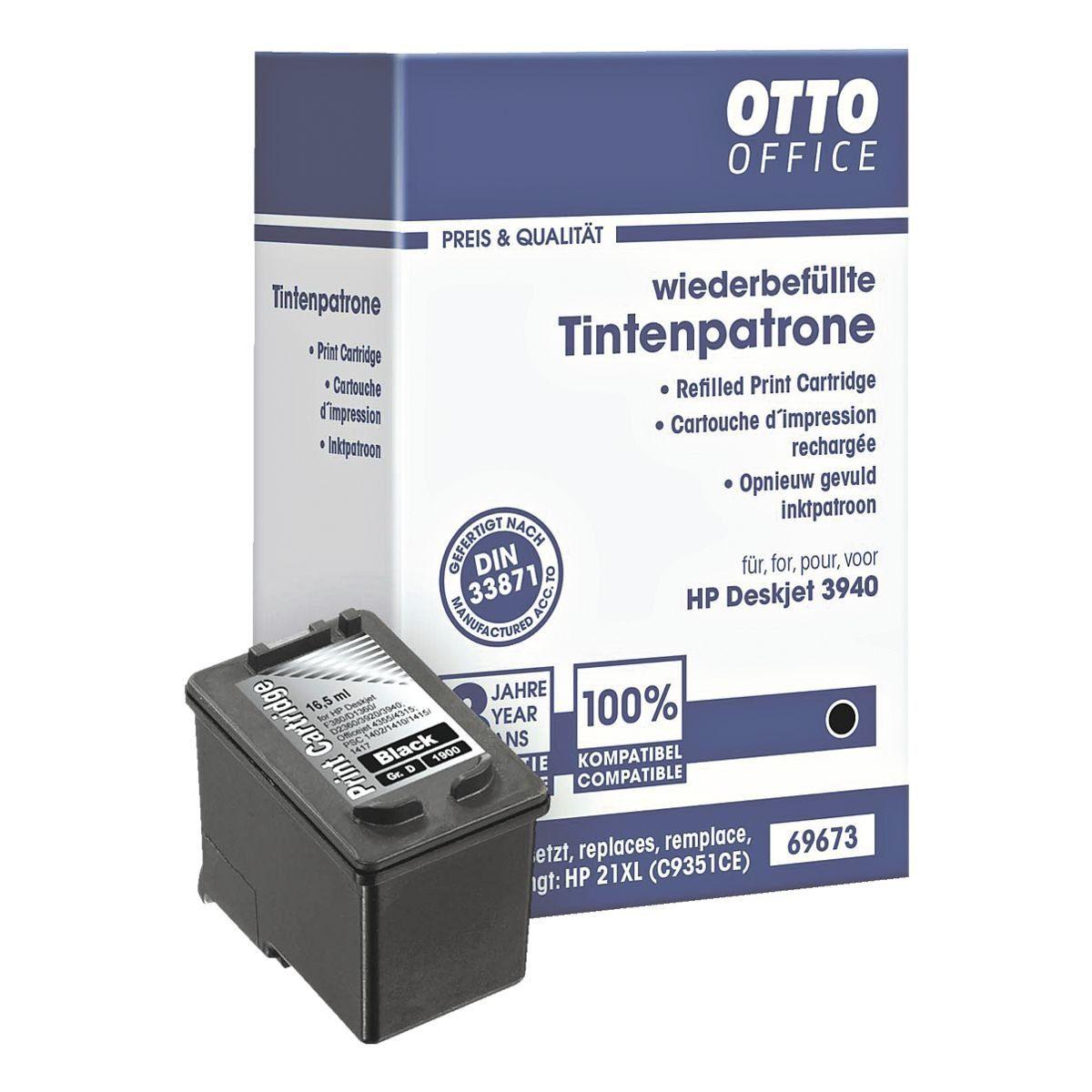 OTTO Office Standard Tintenpatrone ersetzt HP »C9351AE«