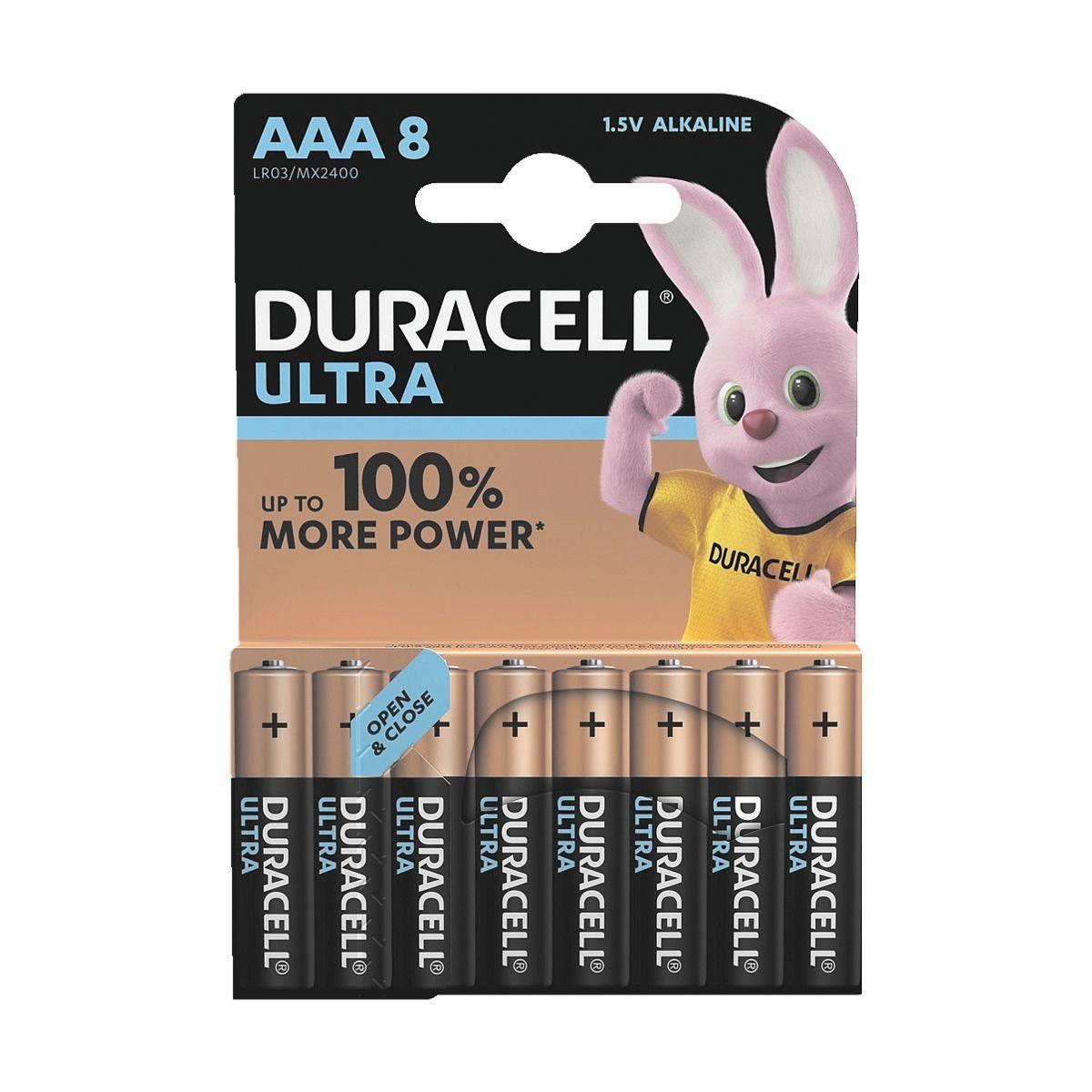Duracell 8er-Pack Batterien Micro / AAA / LR03 »Ultra M3«