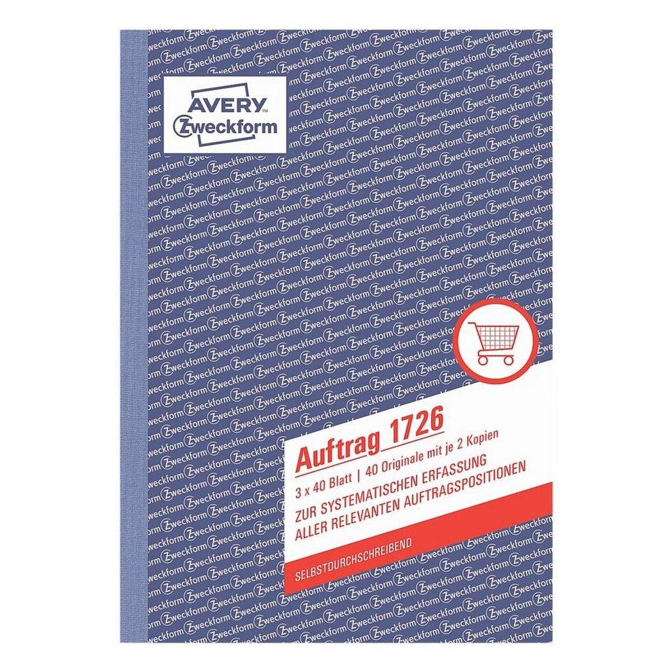 Avery Zweckform Formularbuch »Auftrag«