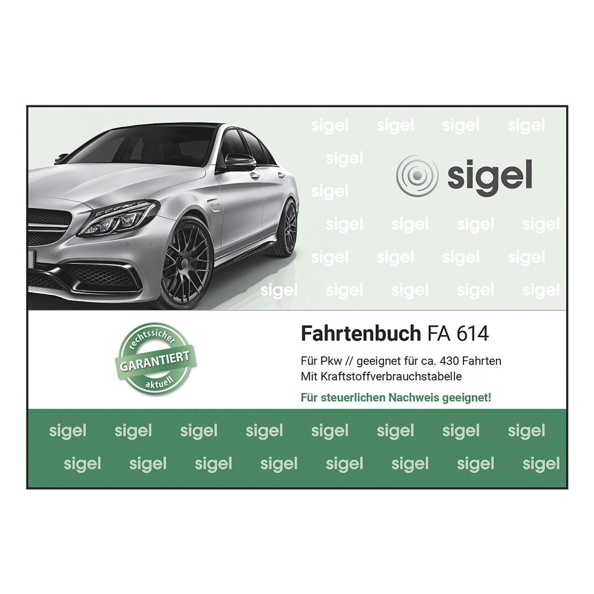 Sigel Fahrtenbuch (A6 quer) »FA614«