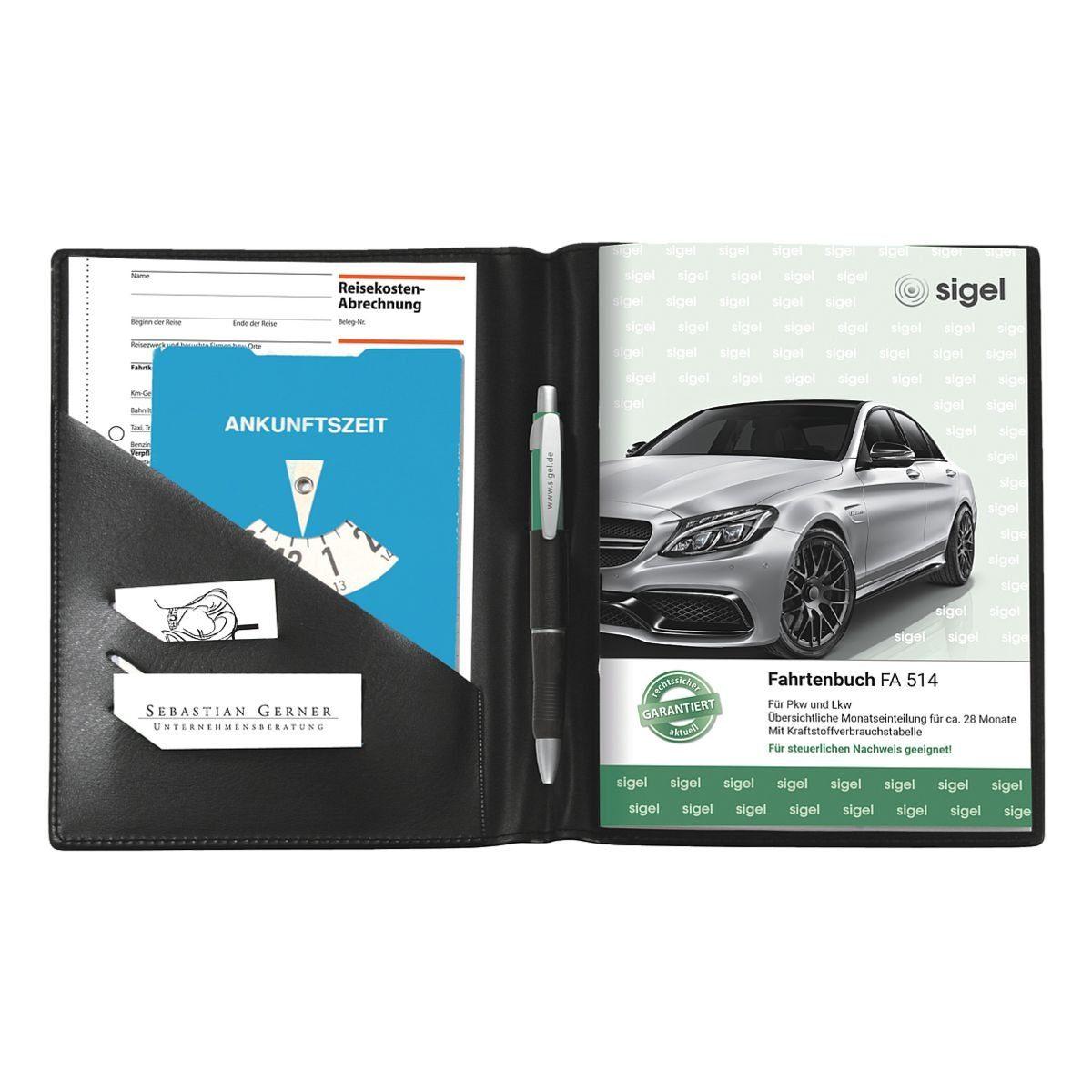 Sigel Fahrtenbuch-Einband (für A5 hoch) »EF510«