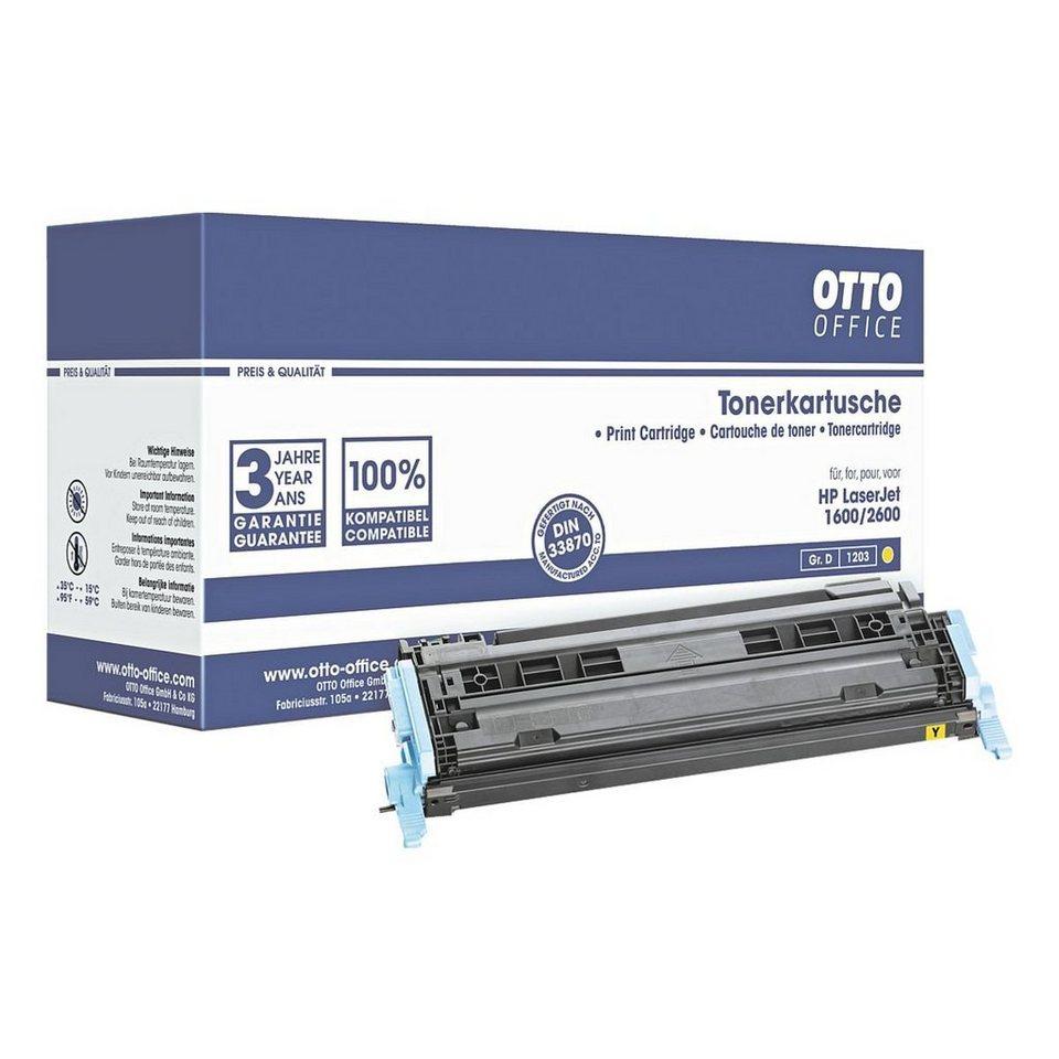 OTTO Office Standard Tonerpatrone ersetzt HP »Q6002A« Nr. 124A