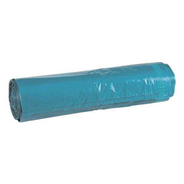 25 Schwerlast-Müllsäcke mit Zugband 120 L blau
