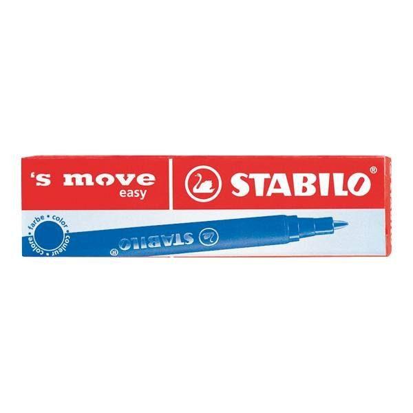 Stabilo 3er-Pack Tintenrollerminen »´s move easy«