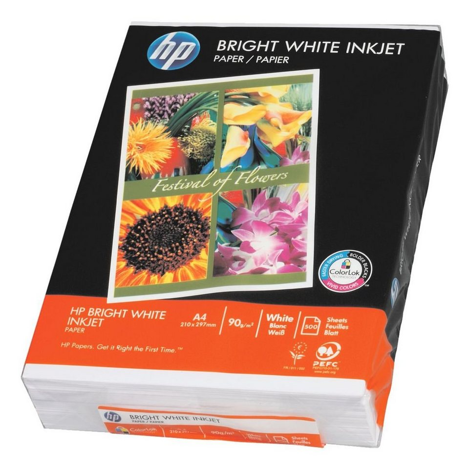 HP InkJet-Papier »HP Bright White«