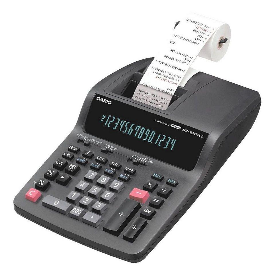CASIO Druckender Tischrechner »DR-320TEC«