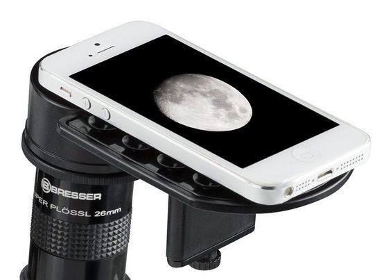 BRESSER Smartphone Adapter »Deluxe für Teleskope und Mikroskope mit Höhenverst«