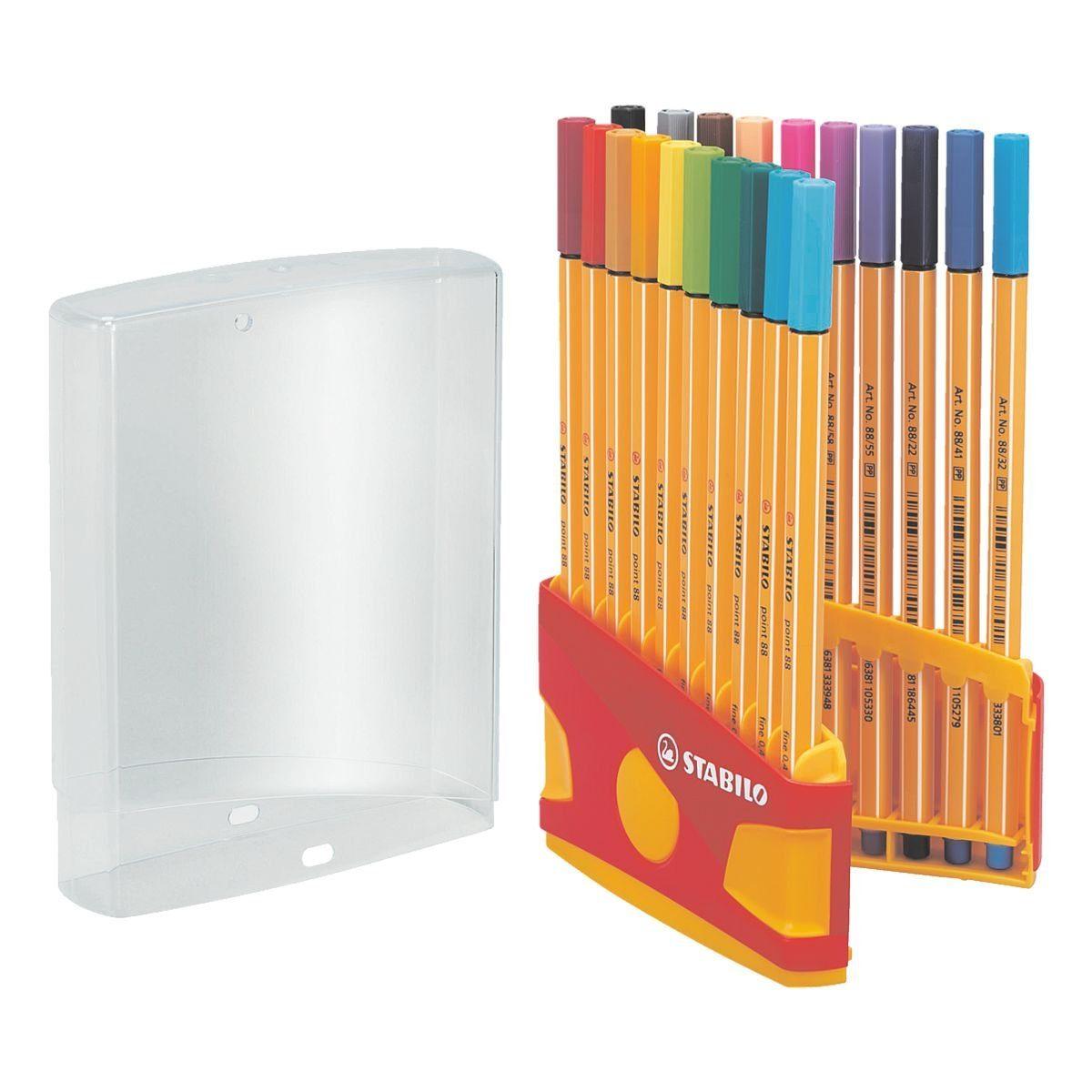 Stabilo 20er-Pack Fineliner »Point 88 - Color Parade«