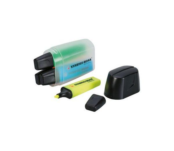 Stabilo 4er-Box Textmarker »BOSS® Original«