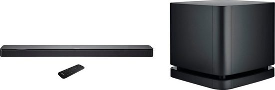 Bose Soundbar 500 + Bass Module 500 Soundbar (Bluetooth, WLAN (WiFi)