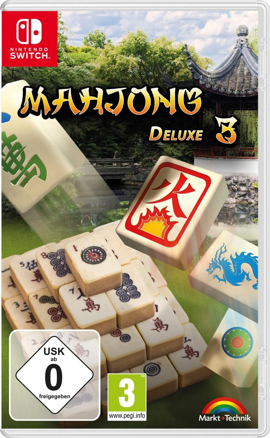 Mahjong Deluxe 3 Nintendo Switch, Software Pyramide