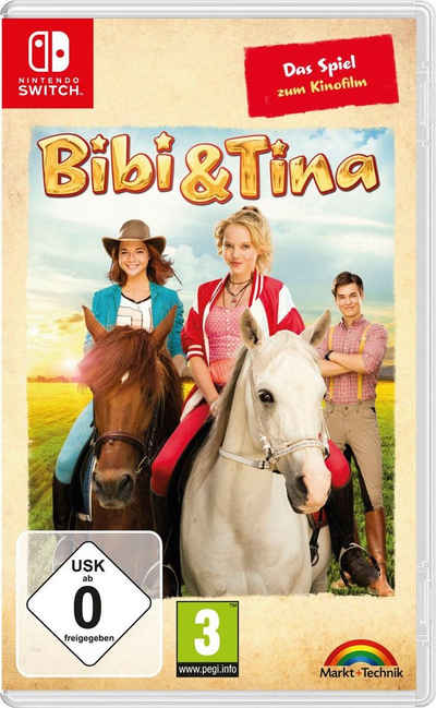 Bibi + Tina: Das Spiel zum Kinofilm Nintendo Switch, Software Pyramide