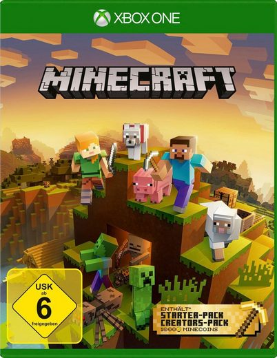 Minecraft Master Collection Xbox One, Software Pyramide