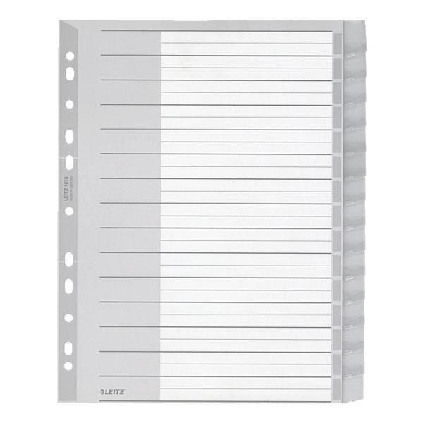 Leitz Kunststoffregister 15-teilig A4 Maxi »1276«