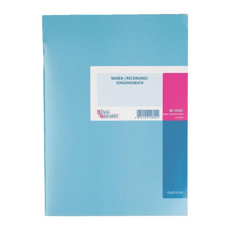 König & Ebhardt Formularbuch »Wareneingangsbuch«