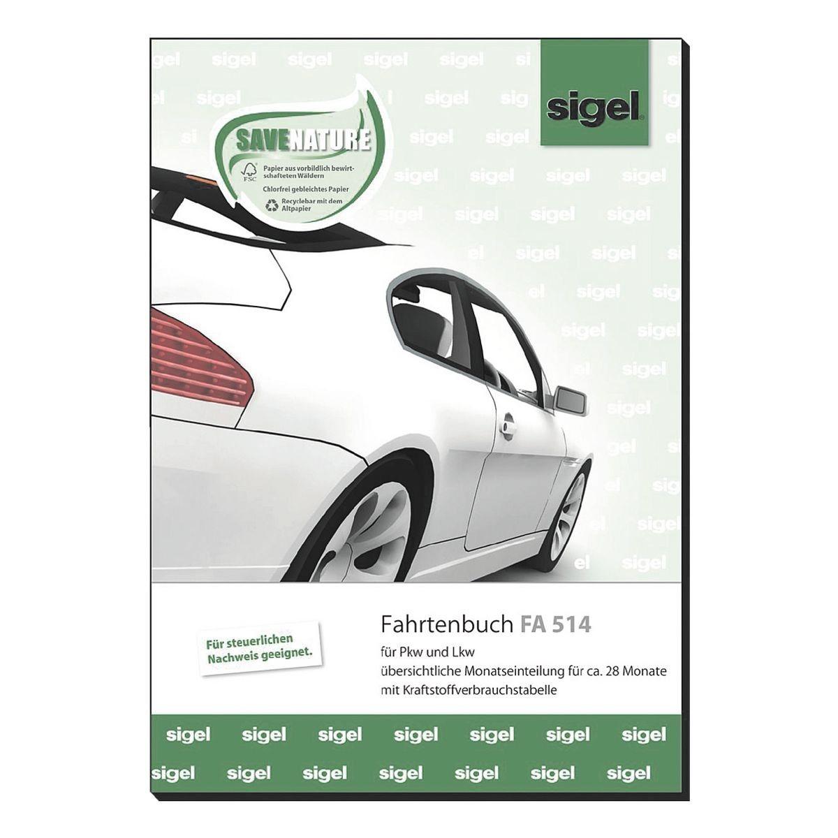 Fahrtenbuch (A5 hoch) »FA514«