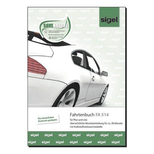 Sigel Fahrtenbuch (A5 hoch) »FA514«