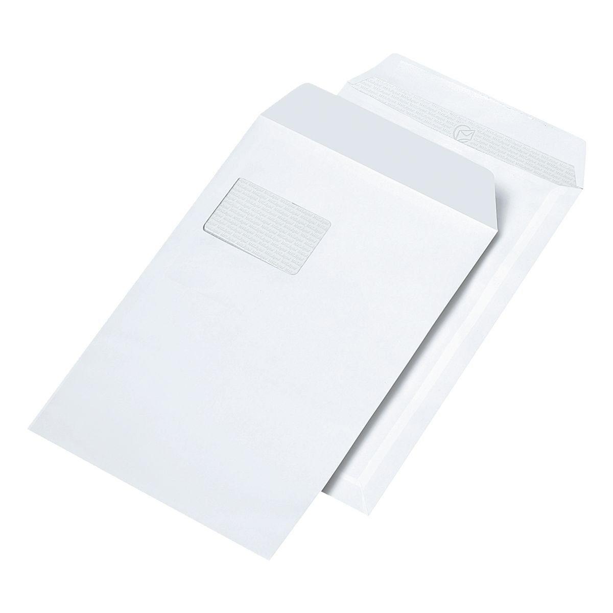 Mailmedia 10 Laserbedruckbare Versandtaschen C4 mit Fenster »Maildigital«