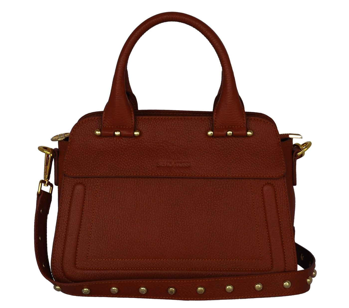 09b5769cca0b7 Damen Silvio Tossi Lederhand- und Schultertasche mit besonderem Stil rot