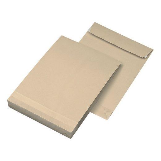 Mailmediade Faltentaschen mit Steh-/Klotzboden