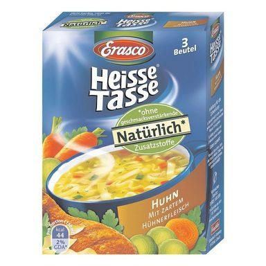 ERASCO Heisse Tasse »Huhn mit Nudeln - 3er-Box«