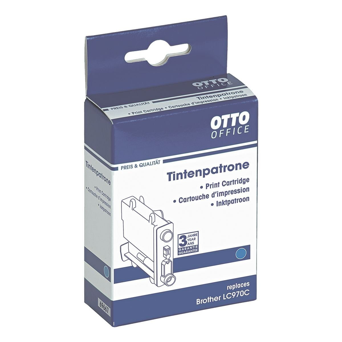 OTTO Office Standard Tintenpatrone ersetzt Brother »LC970C«