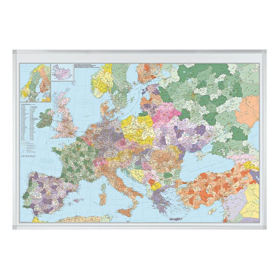 Franken Europakarte in 43189