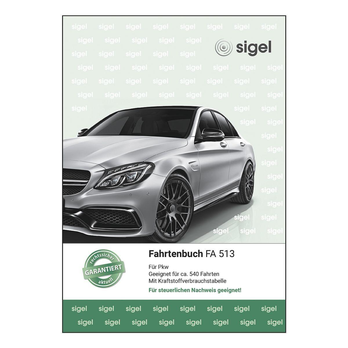 Sigel Formularbuch »Fahrtenbuch«