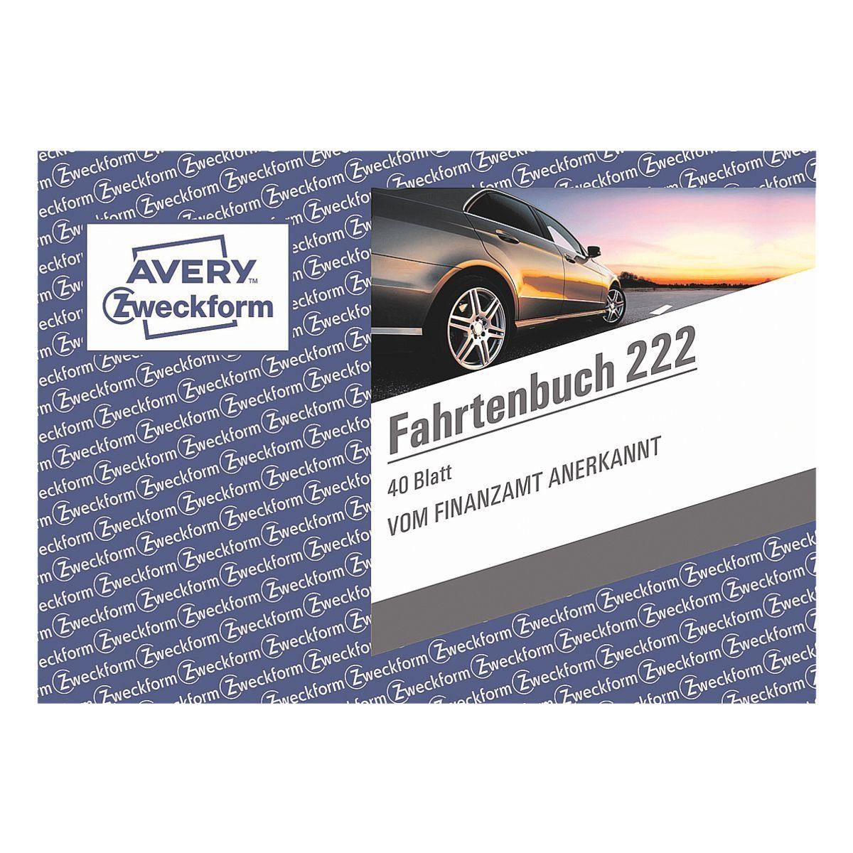 Avery Zweckform Formularbuch »Fahrtenbuch 222«