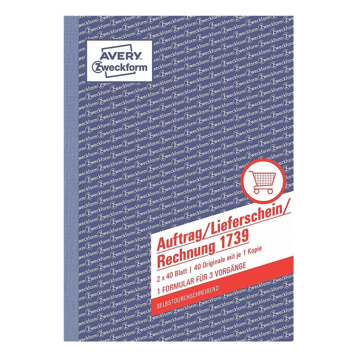 Avery Zweckform Formularbuch »Auftrag/Lieferschein/Rechnung«