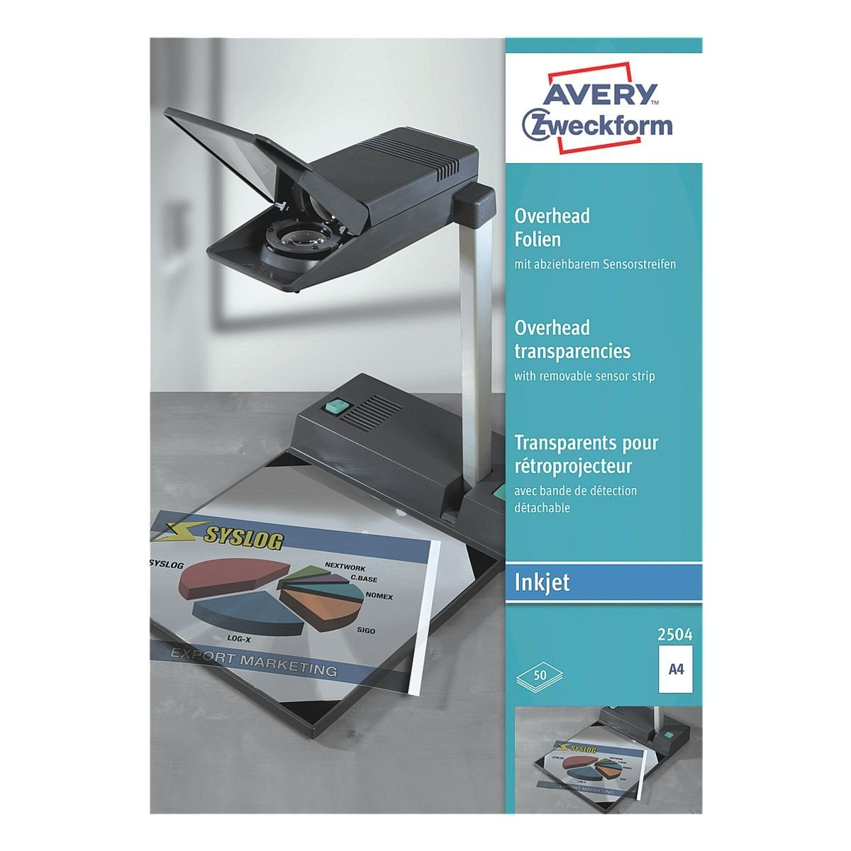 Avery Zweckform Overhead-Folien