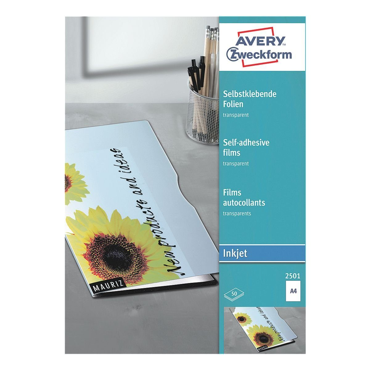 Avery Zweckform Selbstklebende Folien