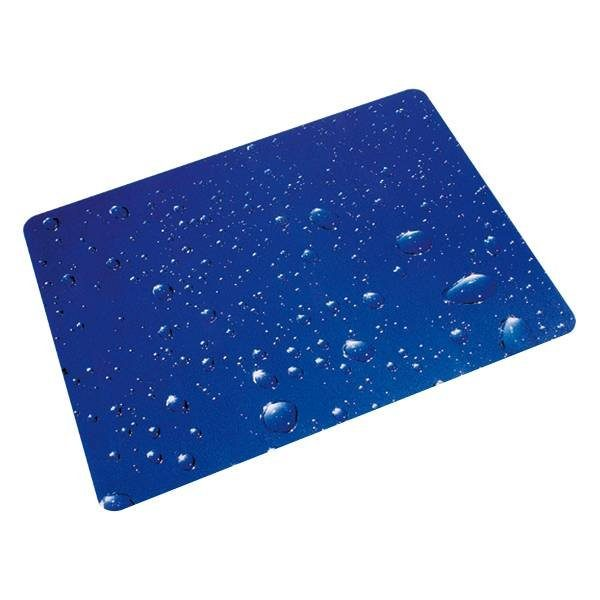 Floortex Bodenschutzmatte 120x90 cm rechteckig für Hartboden »Wassertropfen«