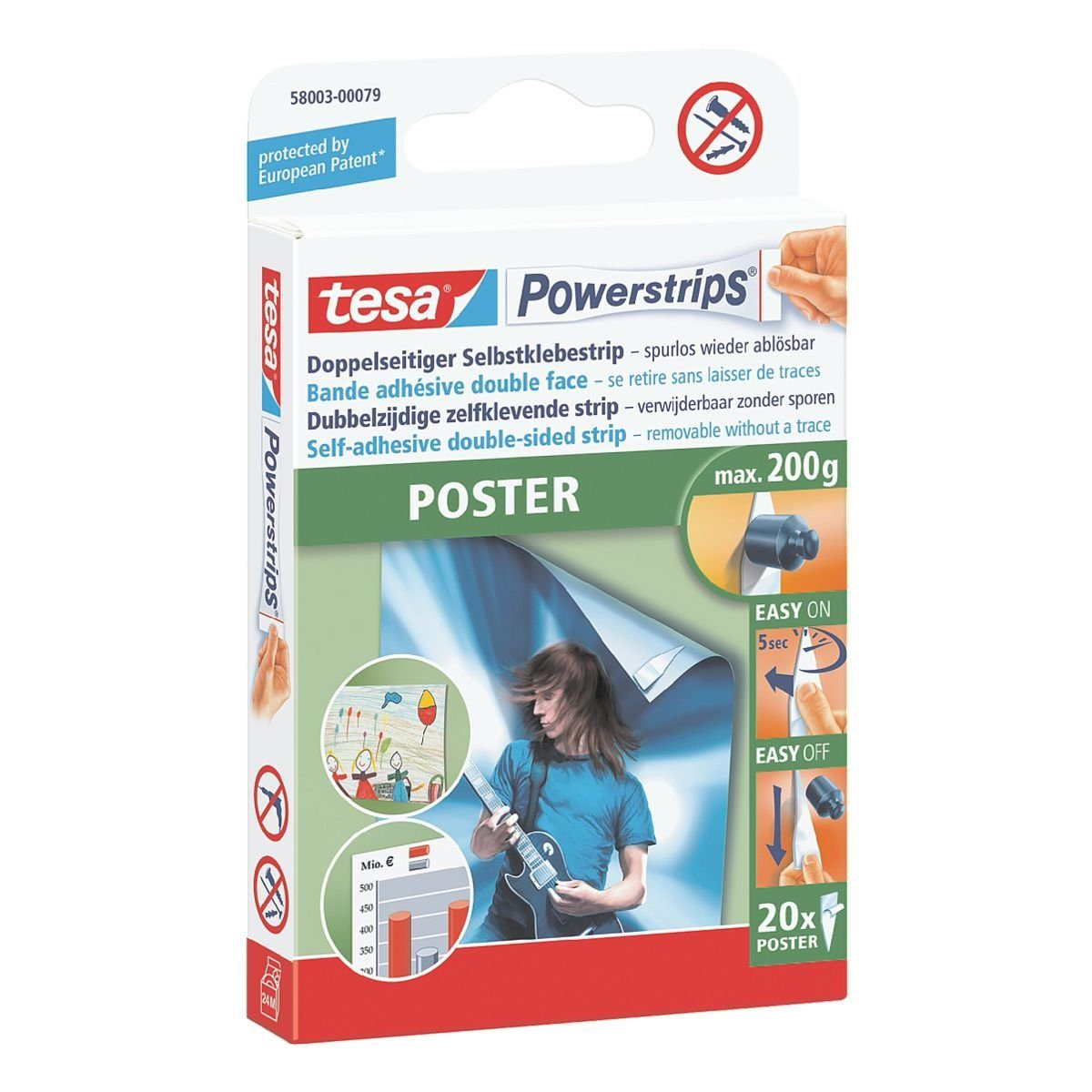 tesa Powerstrips »Poster - Office Pack«